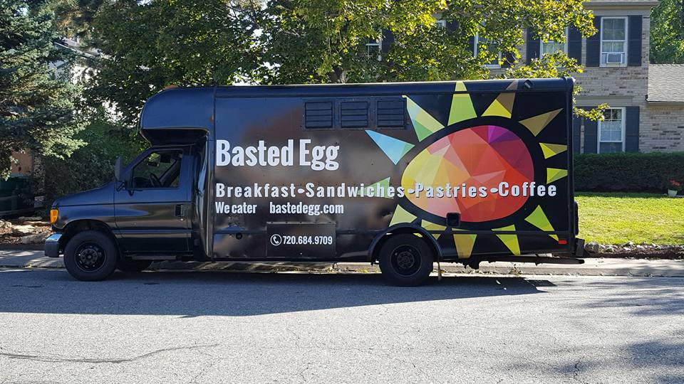 Basted egg food truck