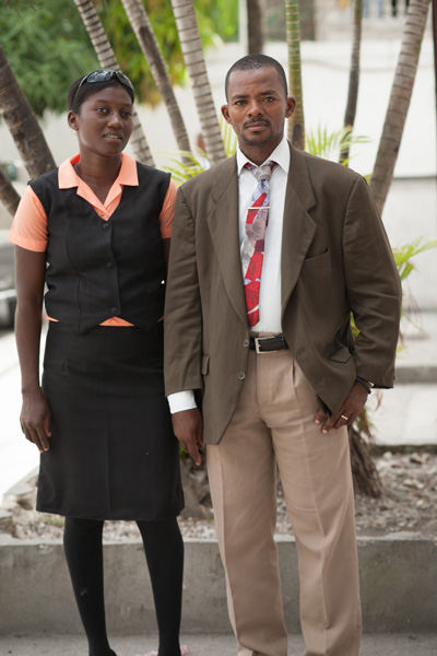 Pastor Auquel Théodore and his wife Buteau Edeline have 2 children and serve in Lacour, Haiti.