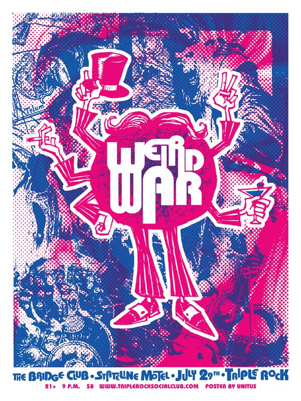 WEIRD WAR POSTER