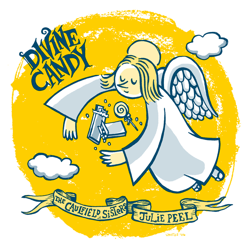 "DIVINE CANDY 7"" COVER"