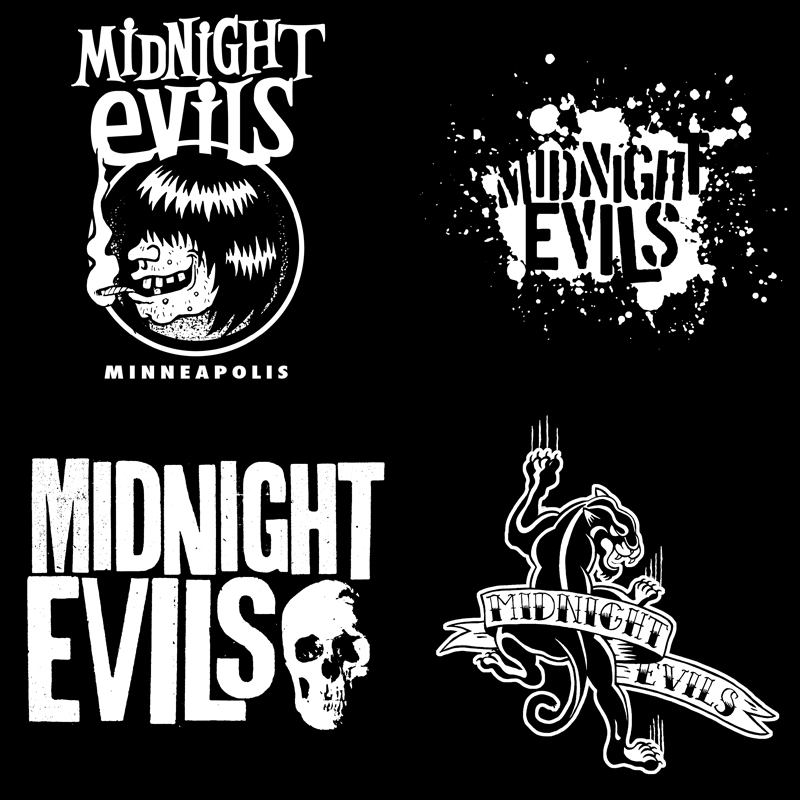 MIDNIGHT EVILS SHIRT DESIGNS