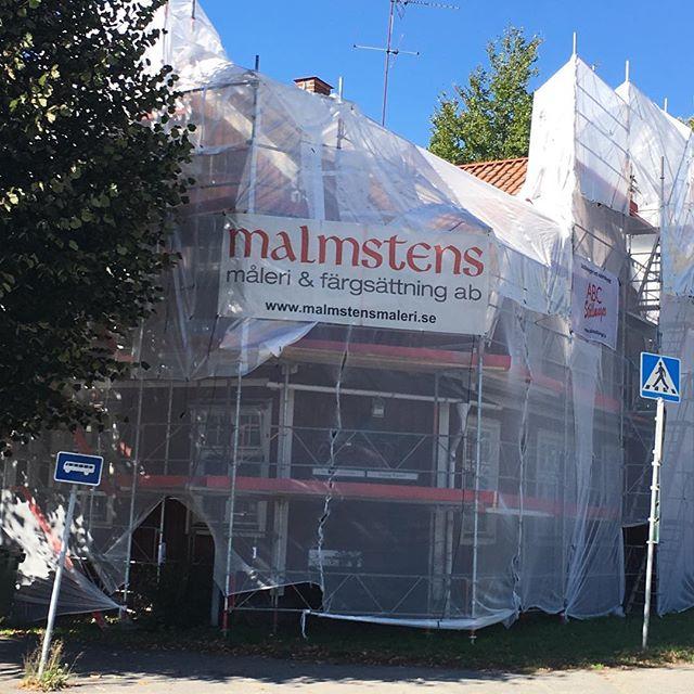 Dags att förädla en fasad i Nynäshamn #nordsjö