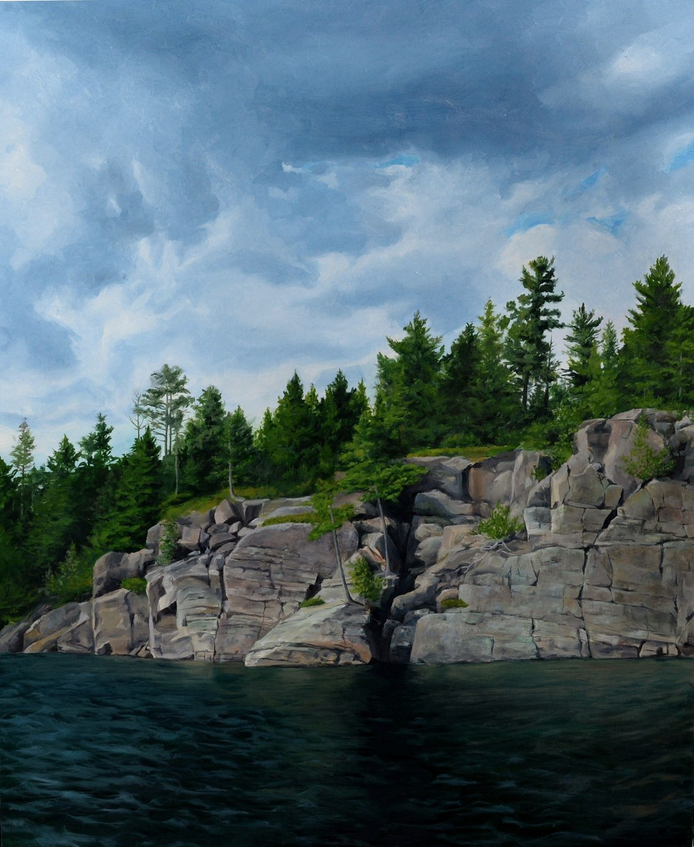 Georgian Bay Oil Painting