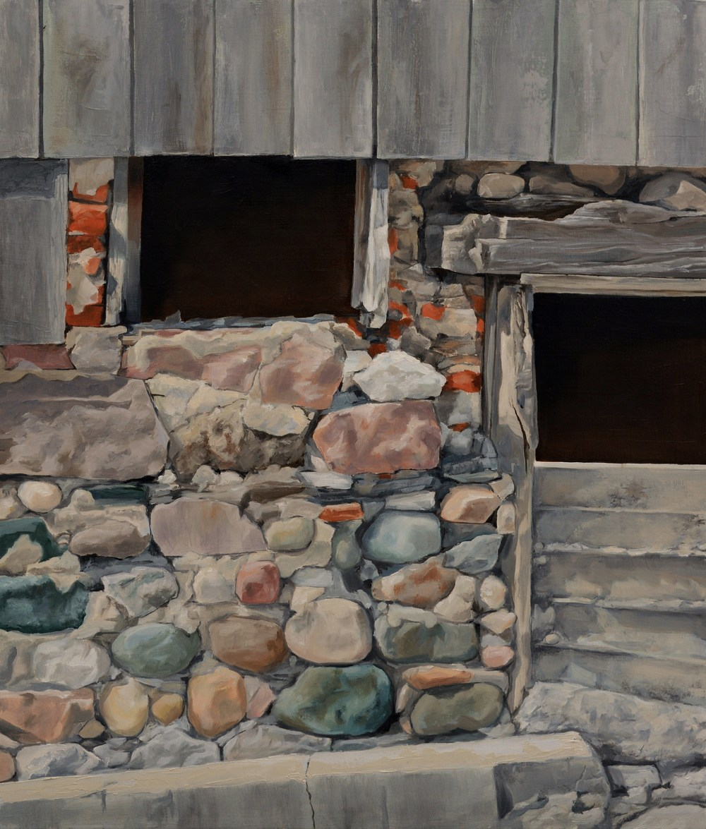 BarnWall, 10x12, Oil on panel.JPG