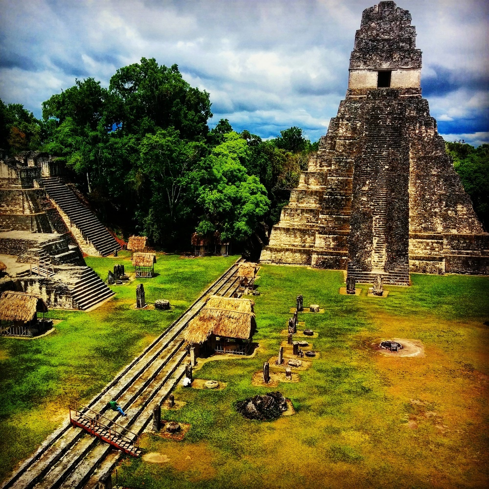 The Acropolis of Tikal.