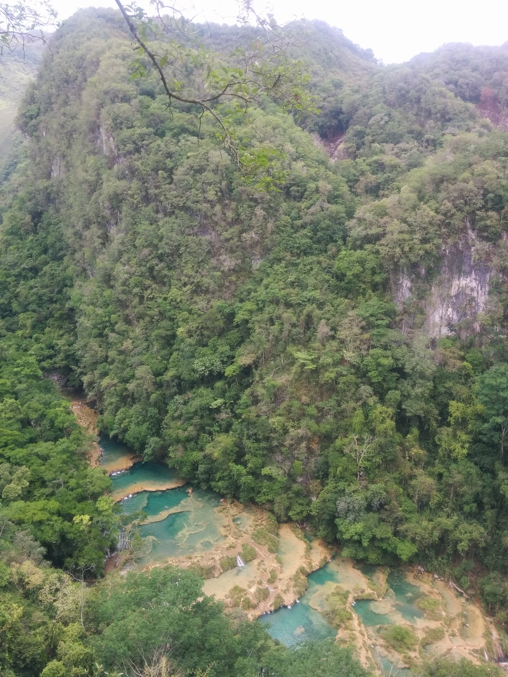 The money shot. Pools of Semuc Champey.