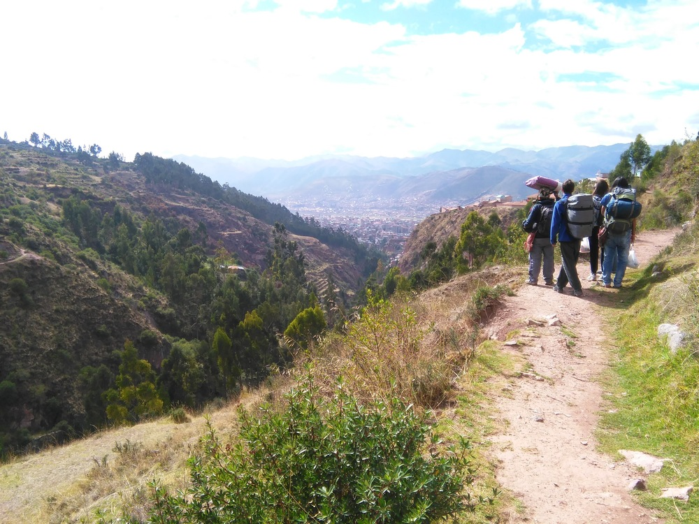 The walk back to Cuzco