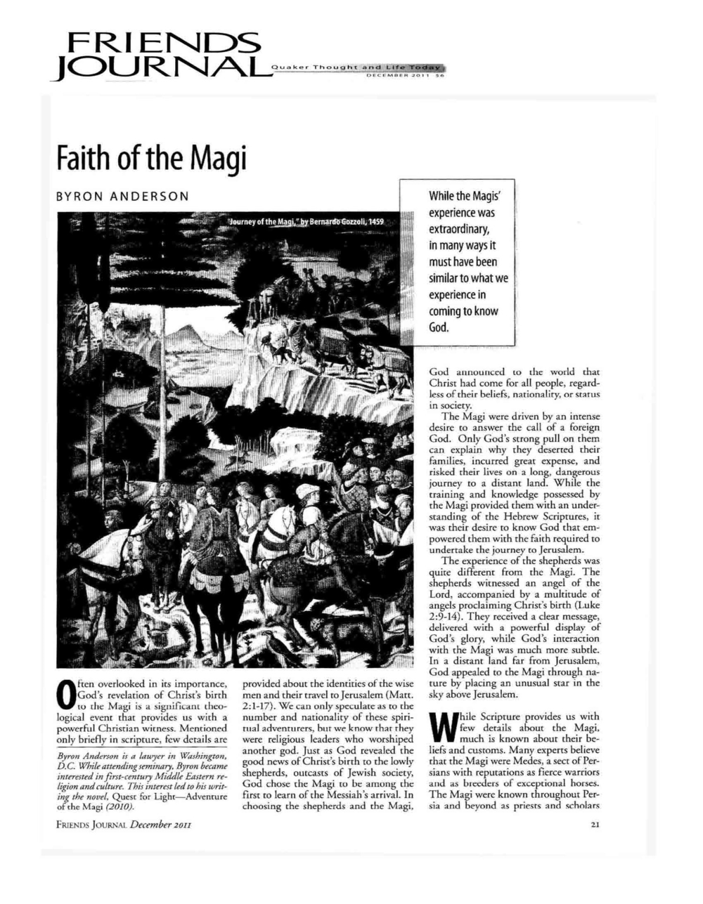 page 1 Faith