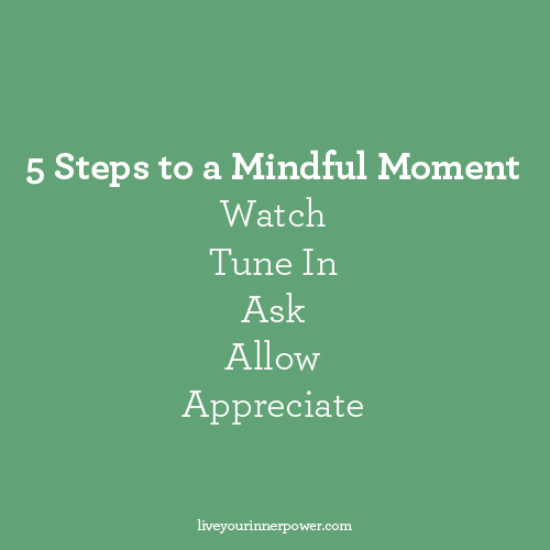 Mindful Moments with Pixie Hamilton