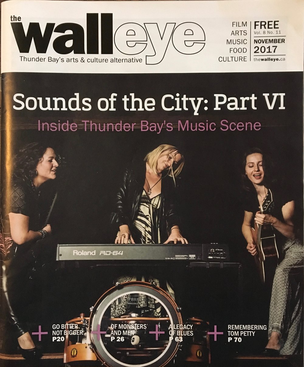 Cover of the Walleye Magazine Nov 2017
