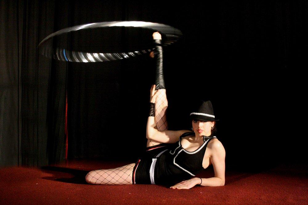 Justine Gangstar hulla act.jpg