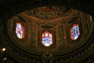 """Dome of St George's Basilica"" by Michael Caroe Andersen. Via  Flickr . No, I can't believe I didn't take my own pictures of the Basilica either."