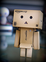 """Meet Danbo!"" by Sally Crossthwaite. Via Flickr"
