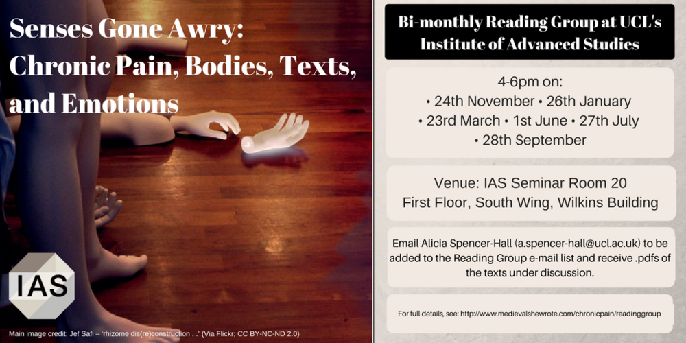 Here's a poster about the Reading Group - feel free to share as you see fit!