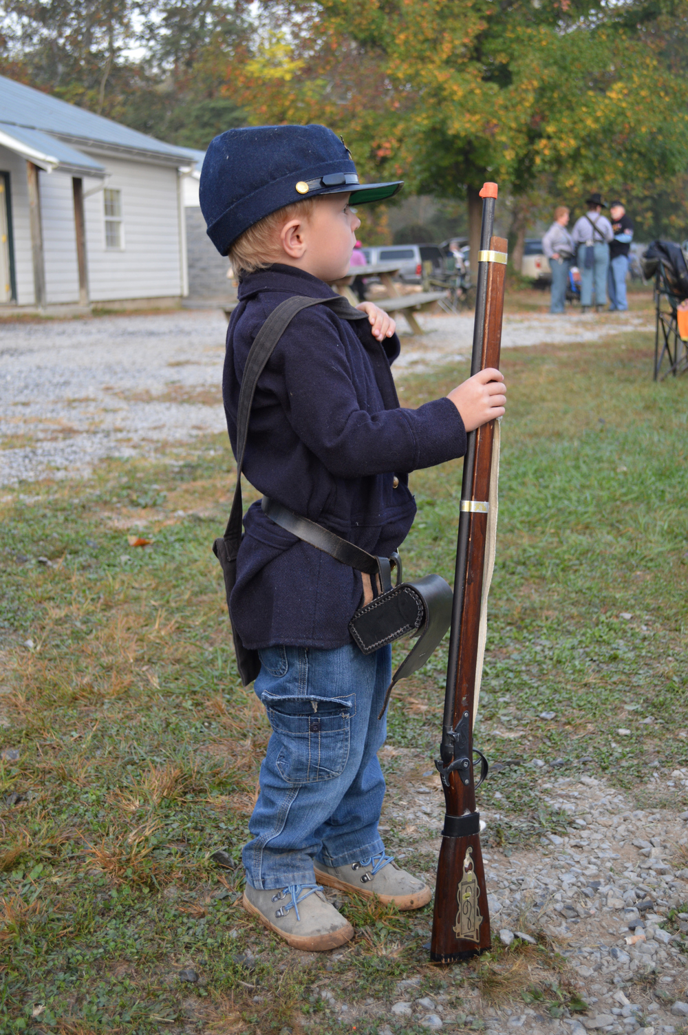 2013 Fall Sun PM Skirmisher in Training.JPG