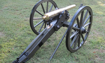 Brass Barrel Confederate Mountain Rifle