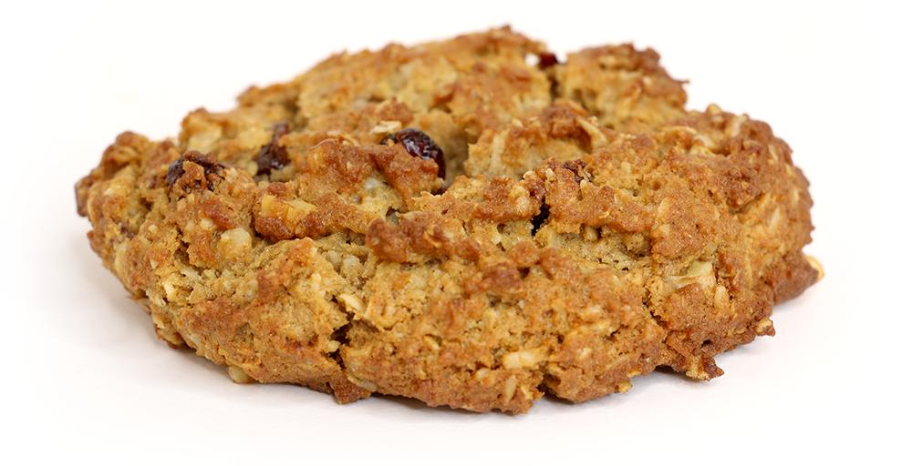 …Ready, Set? - The Breakfast Cookie: whole wheat, oatmeal, craisins , walnuts, coconut & honey!