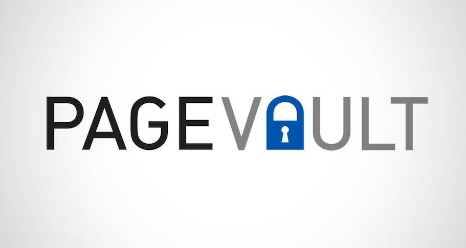 Page Vault blog