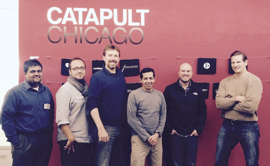 The Jio Team in their early days at Catapult.