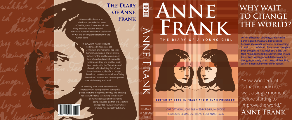 the life and influence of anne frank Culture anne frank: the face of the holocaust she died at age 15 in a concentration camp, but her diary survived to tell the story that has shaped the world's image of the holocaust.