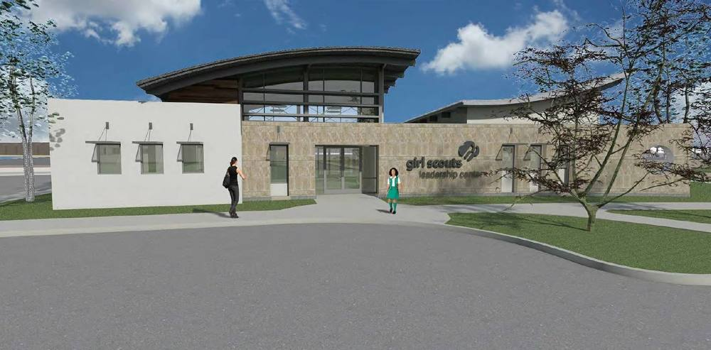 Rendering of upcoming project for the Girl Scouts of Orange County.