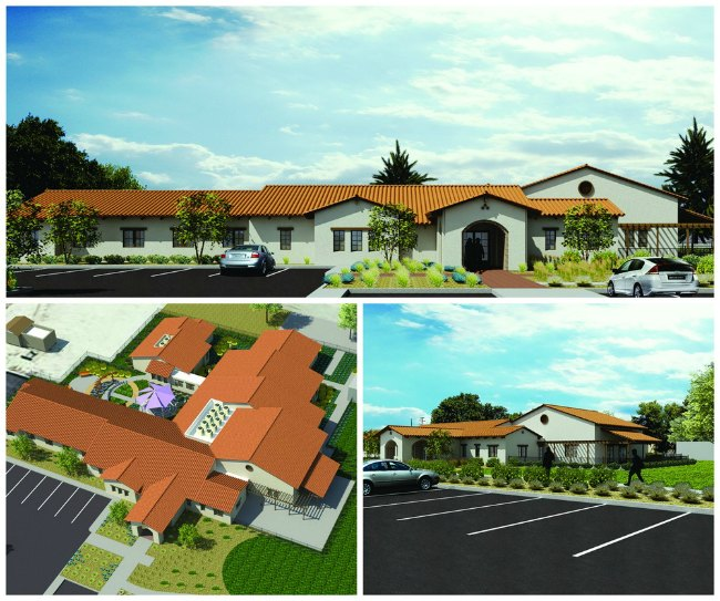 Rendering of upcoming Crisis Residential Treatment Facility for the County of San Bernardino.