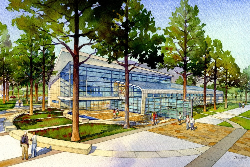 CSUSB_Rec_Center_Rendering