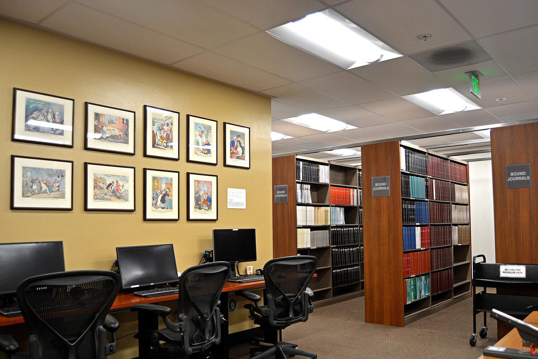 Cedars-Sinai Medical Library Renovation — Perera Construction