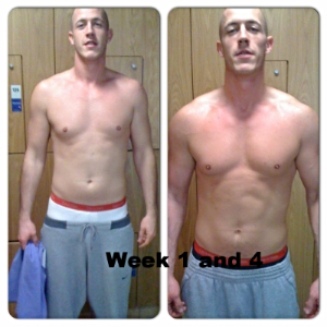 After just 4 weeks Tel changed dramatically