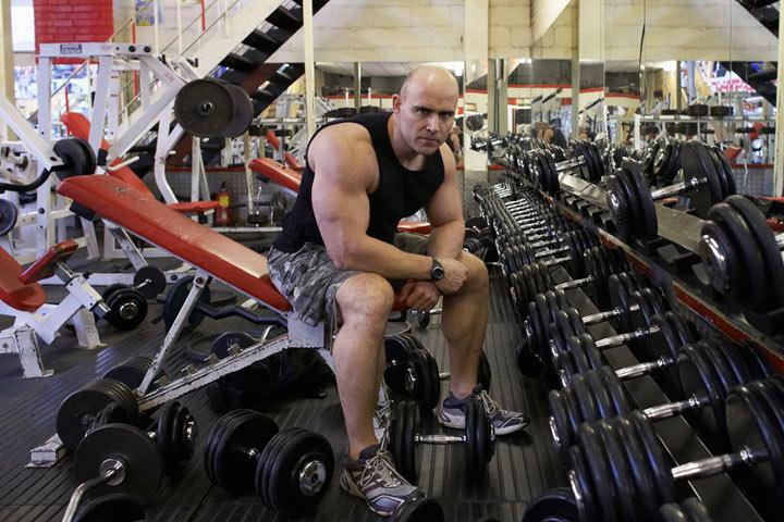 Peter Chown Bodybuilder