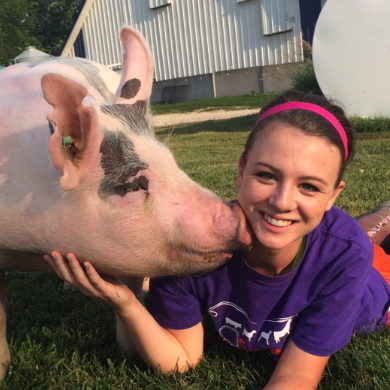 Lexi and Pig