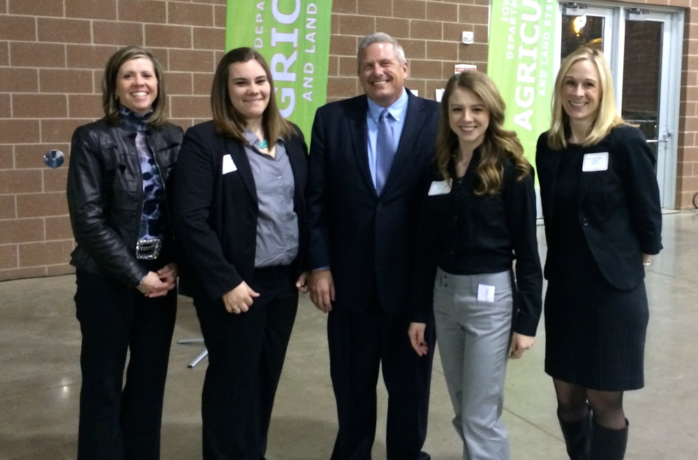Leaders in Iowa Agriculture with Secretary Northey