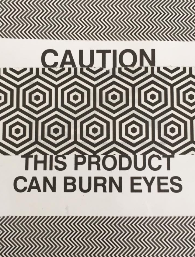 can burn eyes