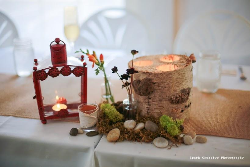 Birch Wrapped Votives