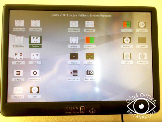 a27044702 Medzi základné očné vyšetrenie patrí práve vyšerenie zrakovej ostrosti.  Vyšetrením sa dá posúdiť, či oči pacienta netrpia tzv. refrakčnou chybou,  ...