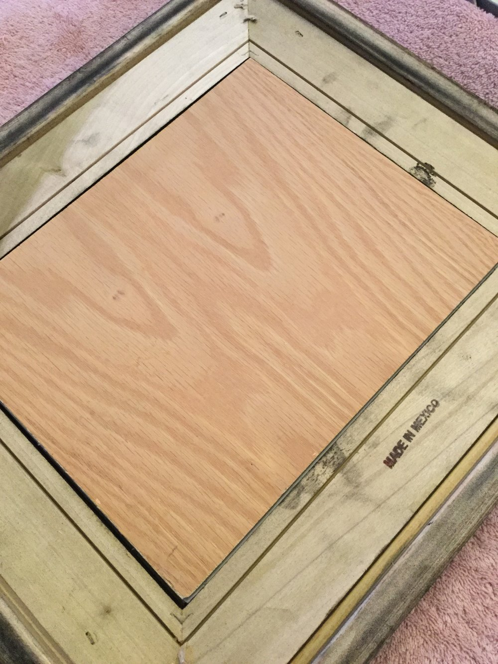 How To Frame A Canvas Panel Kim T Richards