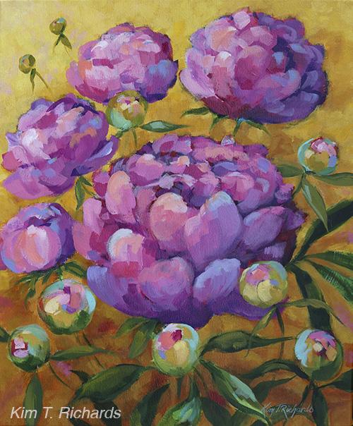"Sanchez St. Florist  20x24"" acrylic on canvas"