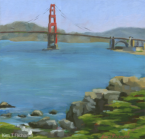 """From Land's End - 12x12"""" Acrylic - $175"""