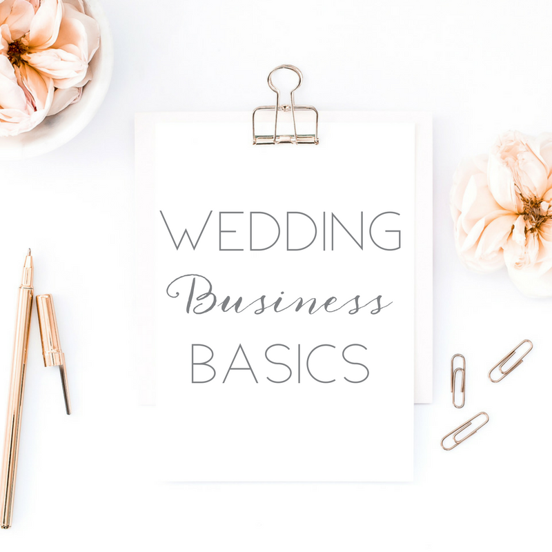 WEDDING BUSINESS BASICS - Does the idea of waking up every day and helping couples in love create the wedding day of their dreams have you floating on cloud nine? Are you ready to make that dream a reality by starting your very own wedding business...but at a total loss for where to start?This comprehensive online course will walk you    step-by-step through the basics of getting your wedding business started the rightway. From choosing a name, to setting up your website, to identifying who your dream clients are and how to love on them best, this course will make sure all your bases are covered!COMING AUGUST 2017