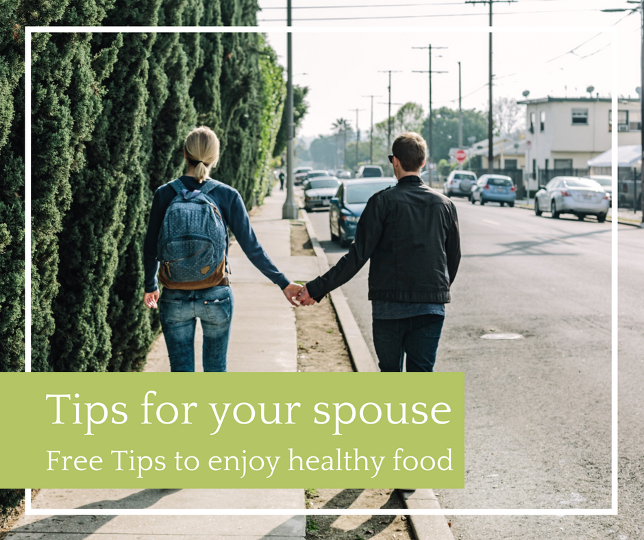 help spouse eat healthy