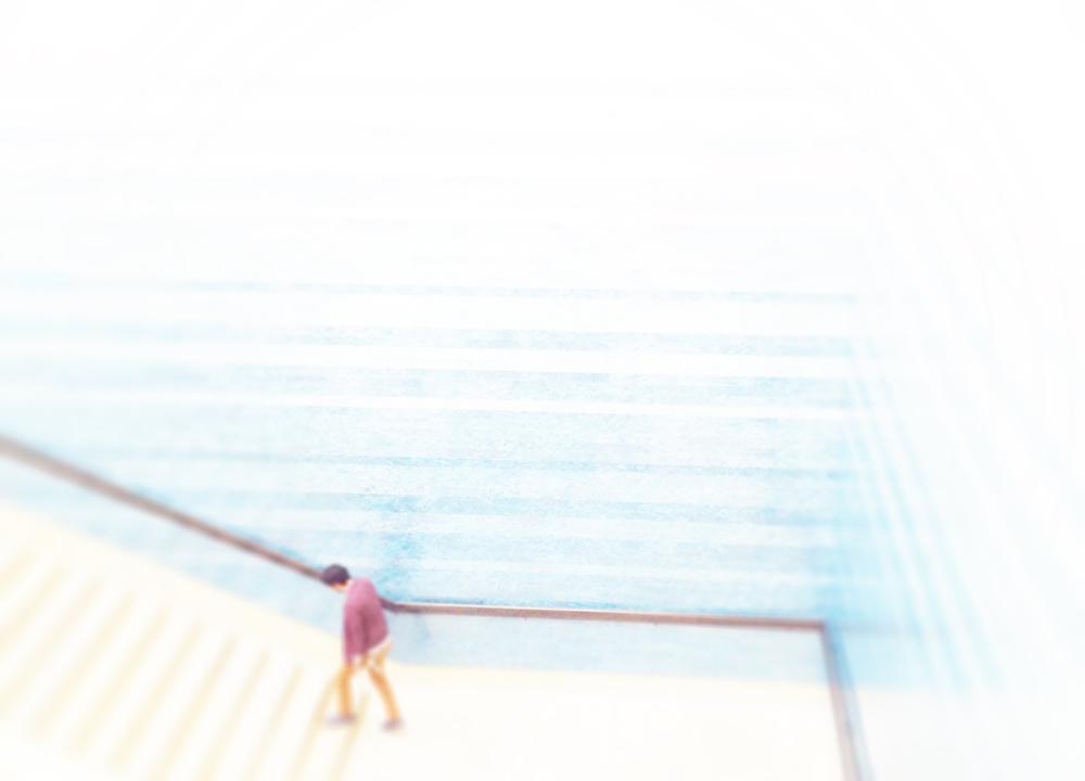Them: Blanton Museum Stairs, Austin, 2014-15