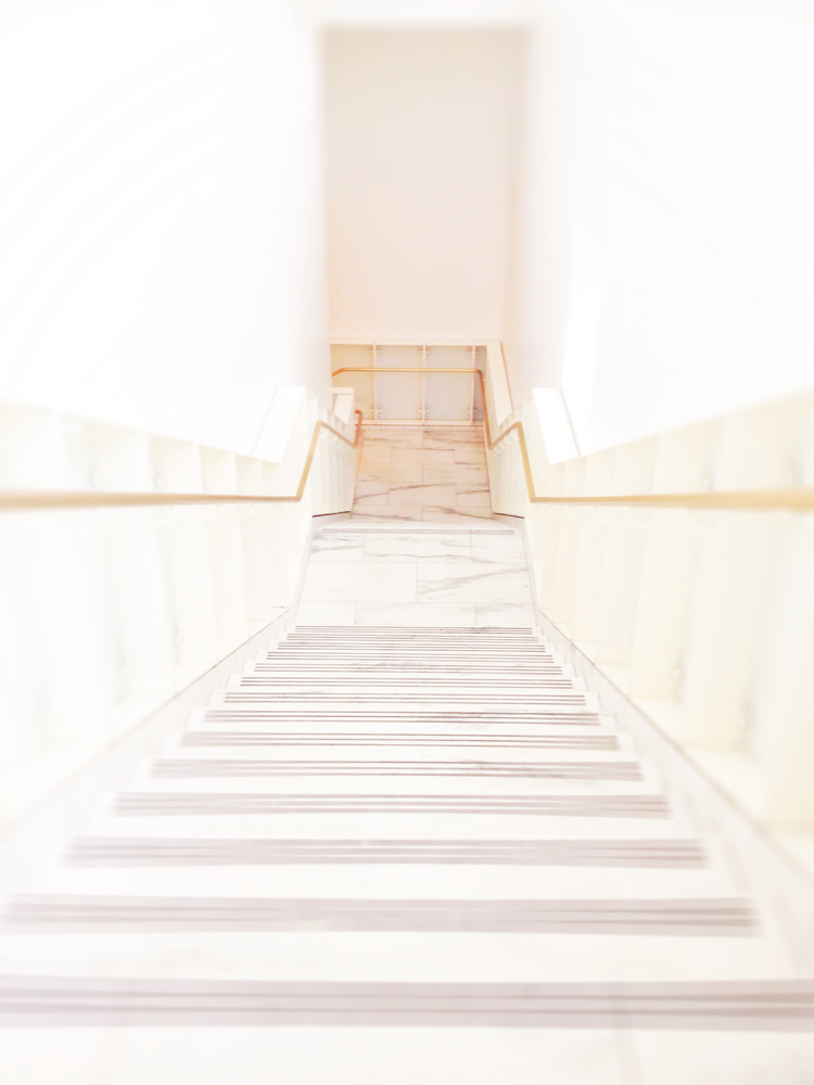 Passages: Blanton Museum Stairwell, Austin, 2014-15