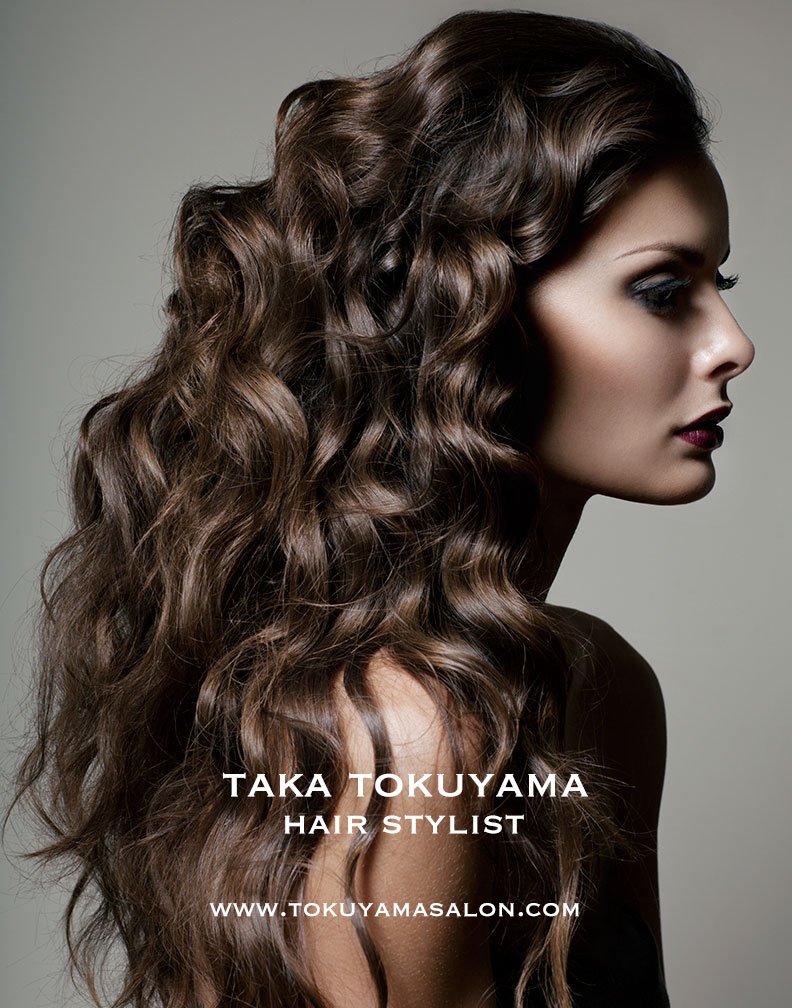 Taka has graced New York with his hairstyling techniques on fashion sets and in his salon, Tokuyaya.