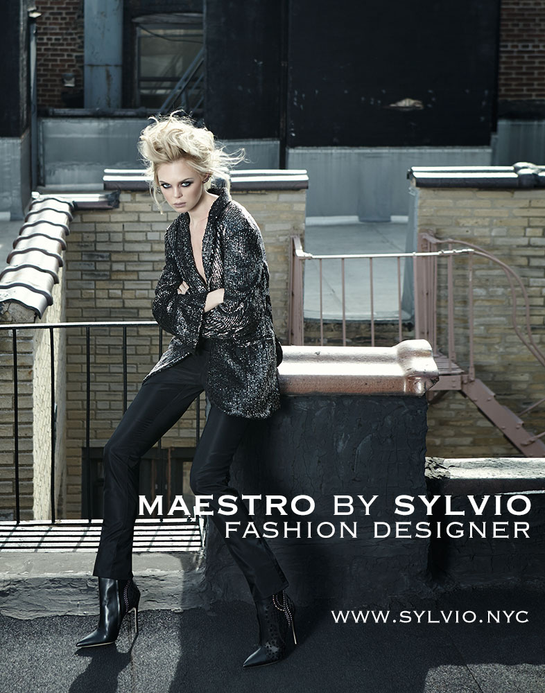 From Croatia to New York, Sylvio's architecture background shaped his stunningly structured MAESTRO Collection.