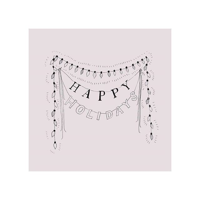 Working on some holiday notecards, and hoping everyone is having wonderful holidays! 💗 // pen on paper // #holidays #holiday #holidays2017 #makersgonnamake #makersmovement #drawing #illustration #handdrawntype #handdrawnlettering #typography #inspo #decor #holidaydecor #holidayart #christmas #art #artist #artistofinstagram #artistsoninstagram #happyholidays #merrychristmas #creativeprocess #doitfortheprocess #artoftheday