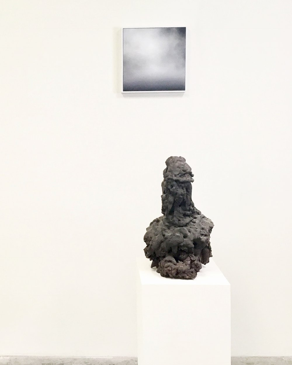 Installation View with Sculpture