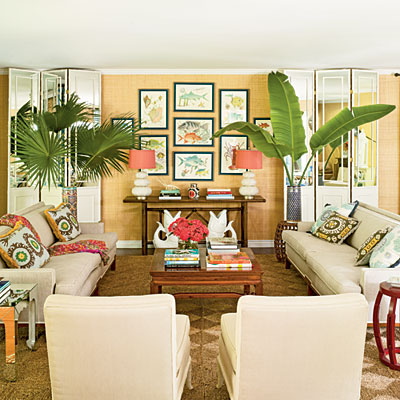 tropical decor get the look - Tropical Decor