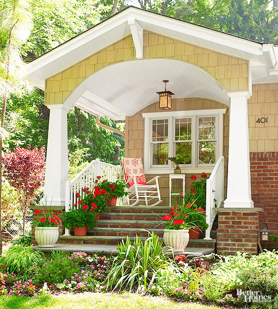3 tips for decorating your front porch with plants sarice amiee interiors. Black Bedroom Furniture Sets. Home Design Ideas