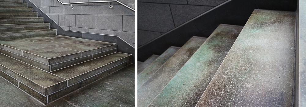 acid stained concrete floor