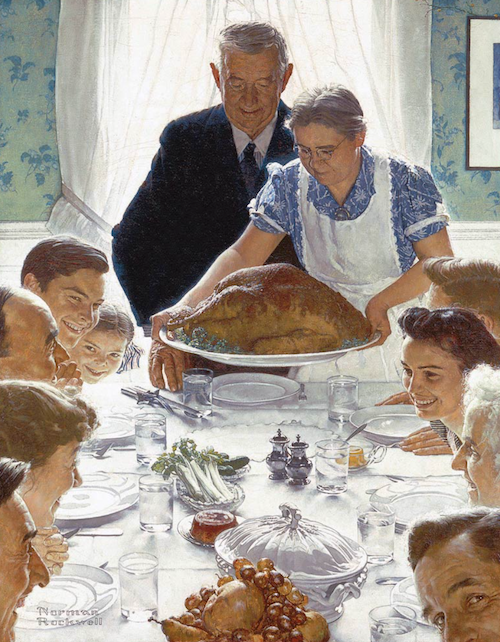 Freedom From Want, by Norman Rockwell, 1943
